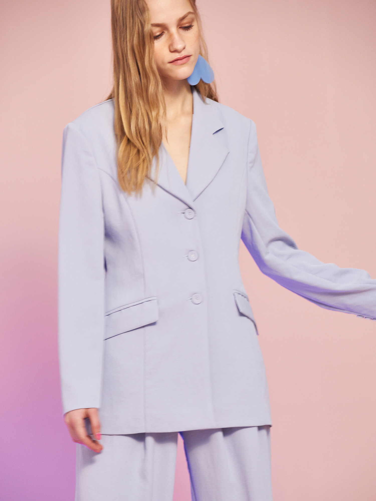 [Clearance Sale 65%Off]Minimal Jacket in Sky Blue