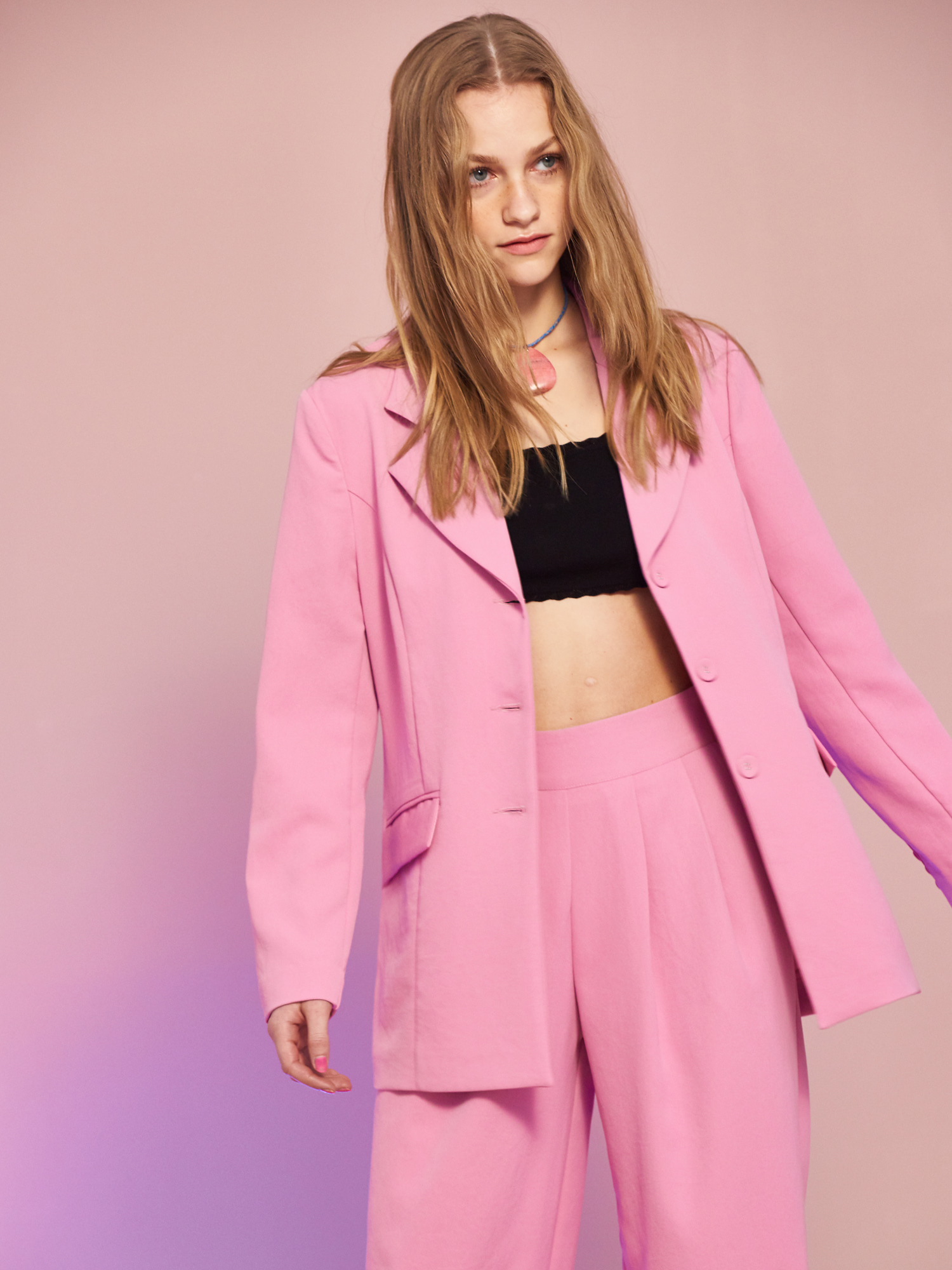 [Clearance Sale 65%Off]Minimal Jacket in Pink
